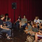 Caleb Bronz drum clinic (2008)