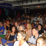 Concert crowd (Burlington 2004)