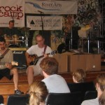 Greg-Stacy-Caleb clinic (Morrisville 2006)