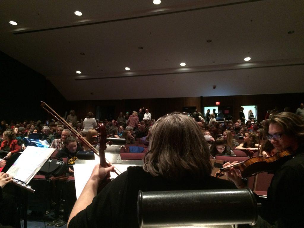 Big Fish Orchestra Pit (Harwood Union 2017)